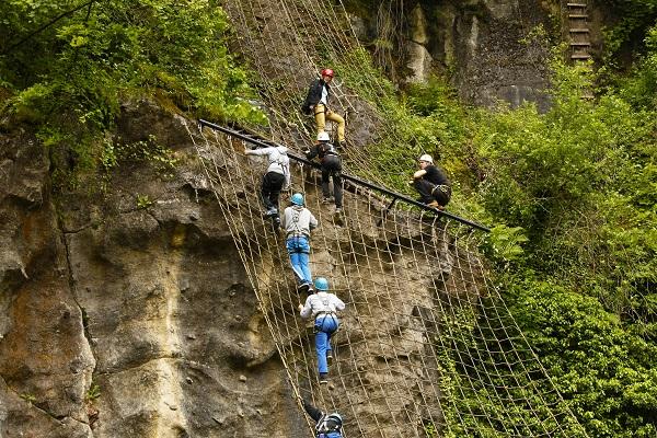 Klettersteig Ardennen : Die schönsten klettersteige im moseltal